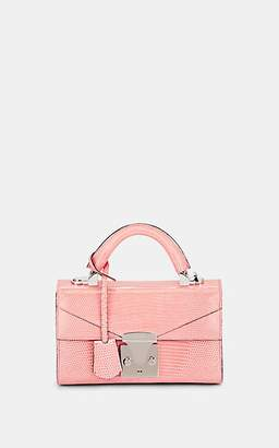 Stalvey Women's Top-Handle Mini Lizard Satchel - Pink
