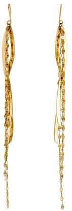 Lana 14K Blake Wavelength Drop Earrings