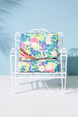 Anthropologie Xavier Indoor/Outdoor Chair Cushion Set