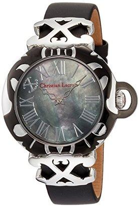 Christian Lacroix (クリスチャン ラクロワ) - [クリスチャン・ラクロア]CHRISTIAN LACROIX 腕時計クォーツ C CLW8002401SM レディース 【正規輸入品】