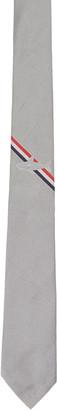 Thom Browne Grey Shark Stripe Classic Tie $220 thestylecure.com