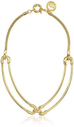 "Giles & Brother Giles and Brother""Cortina"" Double Link Collar Choker Necklace"