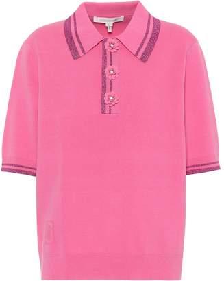 Marc Jacobs Embellished polo shirt