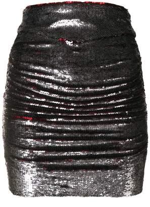 IRO sequin mini skirt