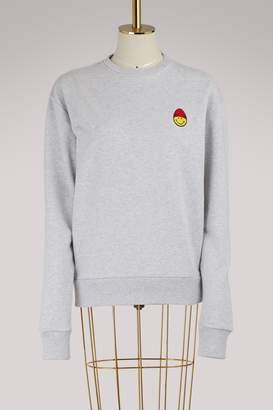 Ami Smiley cotton sweatshirt