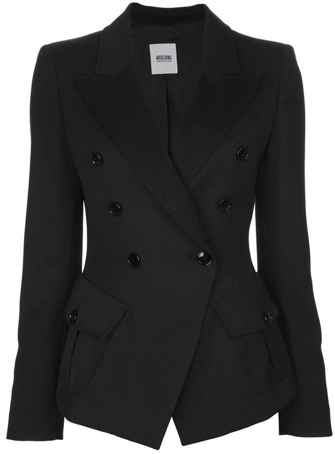 Moschino Cheap & Chic double breasted blazer