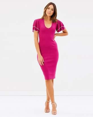 Karen Millen Knitted Midi Dress