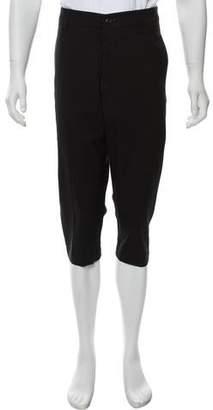 Rick Owens Virgin Wool Cropped Pants