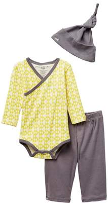 Petunia Pickle Bottom Organic Cotton Triangle Social Set - 3-Piece Set (Baby Boys)