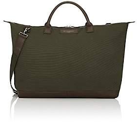 WANT Les Essentiels Men's Hartsfield Weekender Bag-Olive