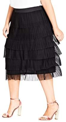 City Chic Ballet Beauty Skirt