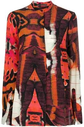 Alexander McQueen abstract print shirt
