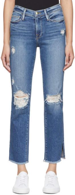 Blue le Nouveau Straight Jeans