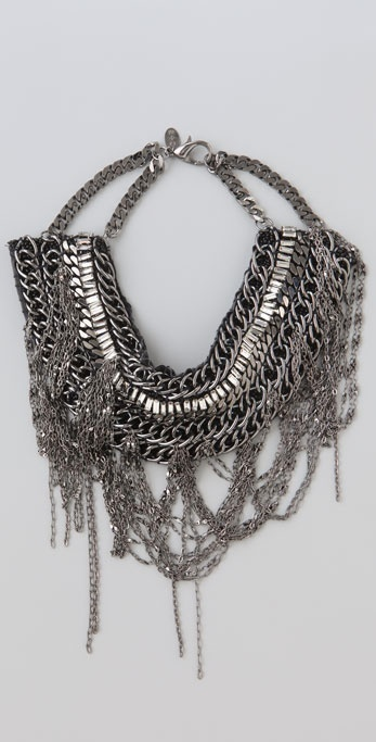 Alice + Olivia Erickson Beamon for Alice + Olivia Chain Collar Necklace
