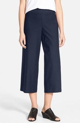 Women's Eileen Fisher Wide Leg Crop Pants $168 thestylecure.com