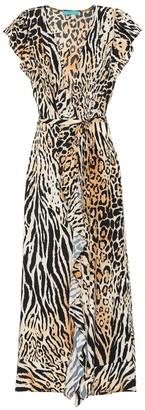 Melissa Odabash Brianna printed maxi wrap dress