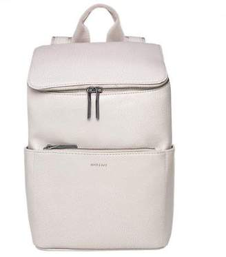 Matt & Nat New Womens Natural Brave Polyvinyl Backpack Backpacks