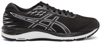 Asics Black and White Gel-Cumulus 21 Sneakers