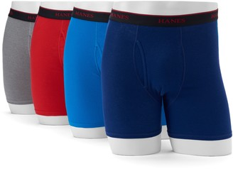 Hanes Men's' Comfort Cool 4-Pack Sport Boxer Briefs
