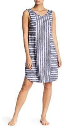 Kensie Stripe Knit Nightgown