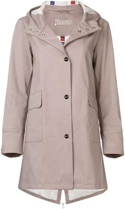 Herno snap-button coat