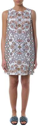 Tory Burch Multicolor Hicks Garden Dress