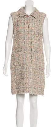 Chanel Tweed Knee-Length Dress w/ Tags