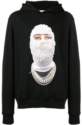 Ih Nom Uh Nit balaclava print hoodie