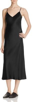 Vince Satin Slip Dress $275 thestylecure.com