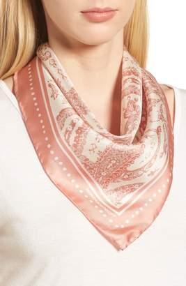 Rebecca Minkoff Ornament Paisley Silk Bandana