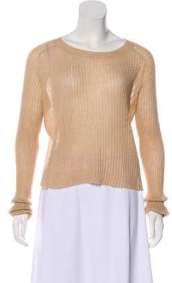 A.L.C. Rib Knit Long Sleeve Sweater