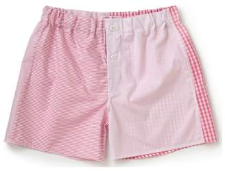 Emma Willis Pink Patchwork Boxer Shorts
