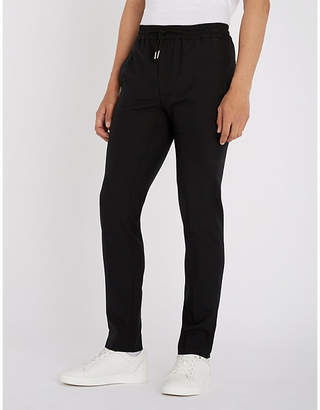 Sandro Regular-fit tapered woven trousers