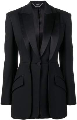 Alexander McQueen double lapel tuxedo jacket
