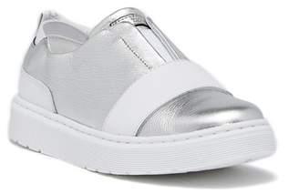 Dr. Martens Lylah Metallic Leather Slip-On Sneaker