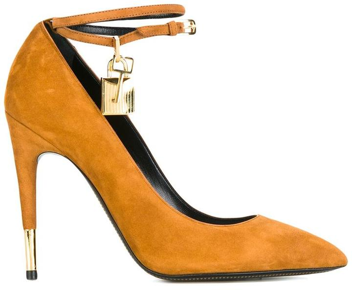 Tom Ford ankle strap pumps
