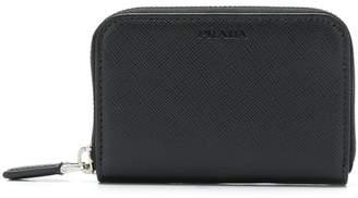Prada zip-around accordion wallet