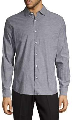 Black & Brown Black Brown Long Sleeve Button-Down Shirt