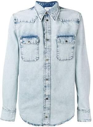 Calvin Klein Jeans Est. 1978 snap buttoned denim shirt