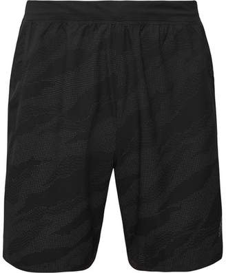 adidas Sport Hype Camo Slim-Fit Mesh-Panelled Shell Shorts