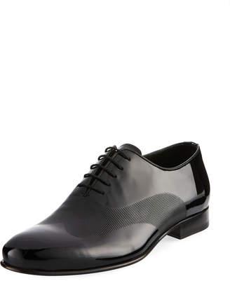 Jared Lang Lace-Up Ridged Dress Shoe