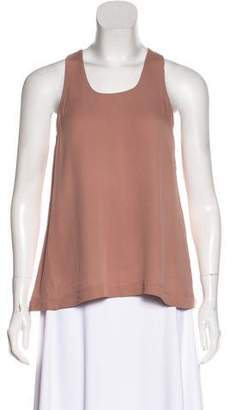 Tom Ford Sleeveless Silk Top