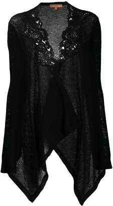 Ermanno Scervino short embroidered cardigan