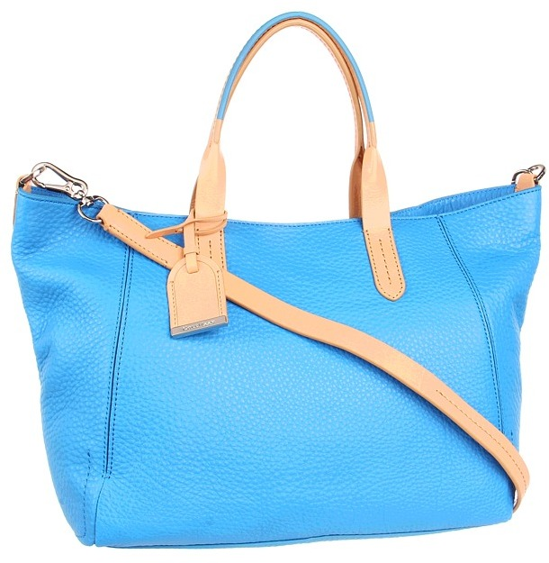 Cole Haan Crosby Small Shopper (Blue Topaz) - Bags and Luggage