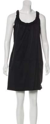 Marni Sleeveless Mini Dress Black Sleeveless Mini Dress