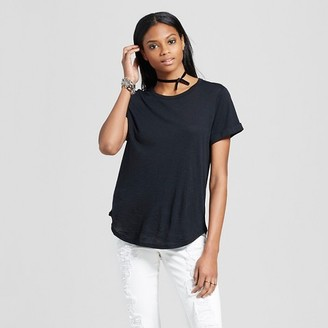 Mossimo Women's Roll Cuff T-Shirt - Mossimo $16.99 thestylecure.com
