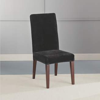 Sure Fit Stretch Plush Short Dining Room Chair Slipcover