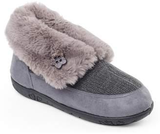 Padders - Grey 'Eden' Womens Memory Foam Slippers