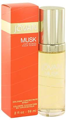 Jovan MUSK by Cologne Concentrate Spray 2 oz