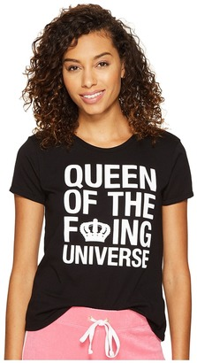 Juicy Couture - Queen of the Universe Short Sleeve Tee Women's T Shirt $48 thestylecure.com